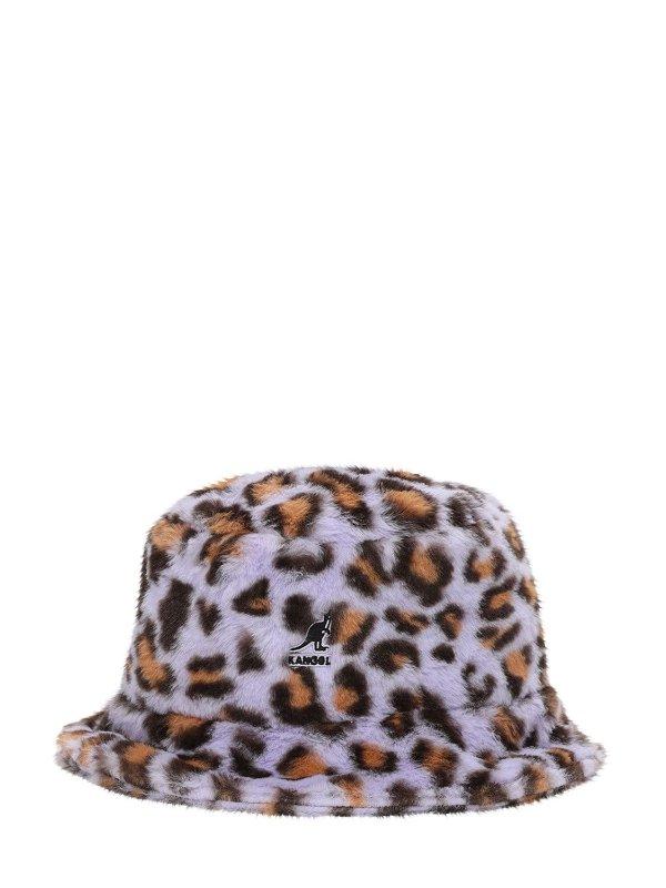 毛茸茸渔夫帽