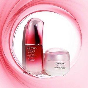 满额送最高价值$112好礼Shiseido十大口碑明星产品 全方位呵护娇嫩的肌肤