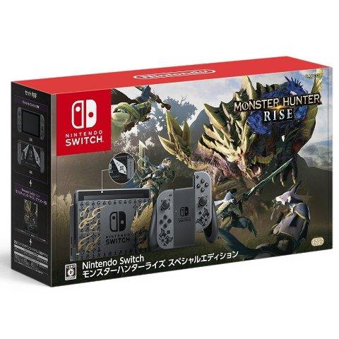 套装定价£339.99 3月26日发货Nintendo Switch 《怪物猎人 崛起》限定机预售开启