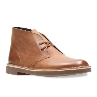 Kohls 2 Pairs Clarks Men's Leather Chukka Boots on Sale