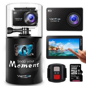 $41.99VanTop Moment 4 4K 运动相机 2000万像素Sony 传感器
