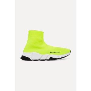 Balenciaga相当于美金$385,包税Speed logo-print 袜子鞋