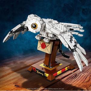 8折后仅€31 收新款乐高Lego 哈利波特系列海德薇 霍格沃茨的通知书来啦