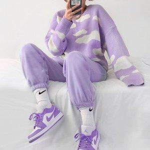 $14起+免邮  紫里紫气的Nike官网 卫衣、leggings、T恤裙等紫色热门单品了解一下