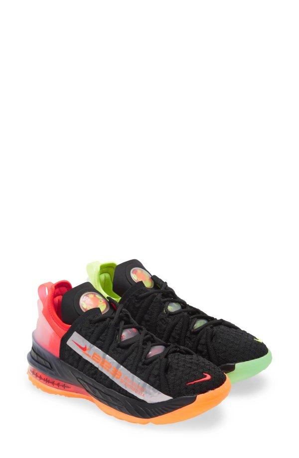 LeBron 18篮球鞋