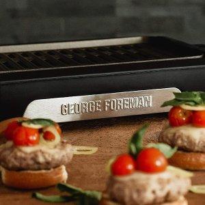 $44.99(原价$59.99)George Foreman 室内无烟电烧烤炉 秋冬在家也可以烧烤吃起来