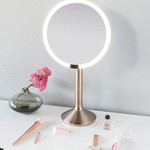 $150 (原价$250)Simplehuman 智能感应化妆镜6折热卖 10倍放大