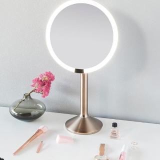 折后价¥706到手Simplehuman 8倍放大,智能感应10cm化妆镜8.1折热卖