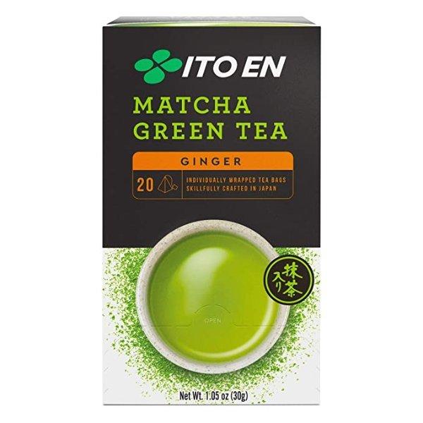 Ito En 姜味抹茶茶包 20包6盒
