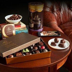 $9.17 (原价$12.50)销量冠军: Godiva 黑巧克力G立方盒子 22颗装
