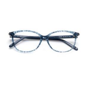Chloe猫眼网纹眼镜