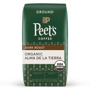 Peet's Coffee Organic Alma de la Tierra, Dark Roast Ground Coffee, 36 oz