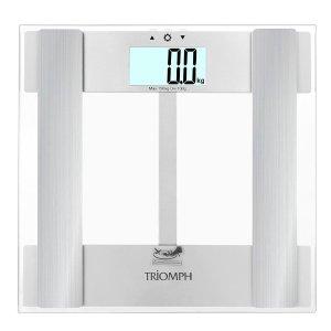 $17.49 + 赠手机运动套(价值$10)Triomph 高精度电子体重秤/体脂秤