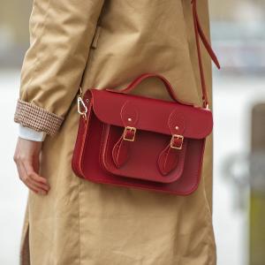 满£65减£20 最高满减£60即将截止:剑桥包 英国手工皮具品牌 春季百搭经典英伦风