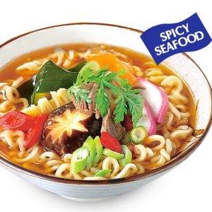 $4.27(原价$6.39)Nongshim NS02304S 农心鲜辣海鲜拉面 4袋装