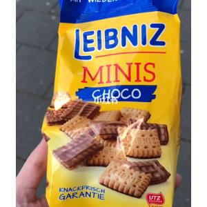 14袋装 仅售27.8欧Leibniz PiCK UP! Minis Choco 迷你巧克力饼干