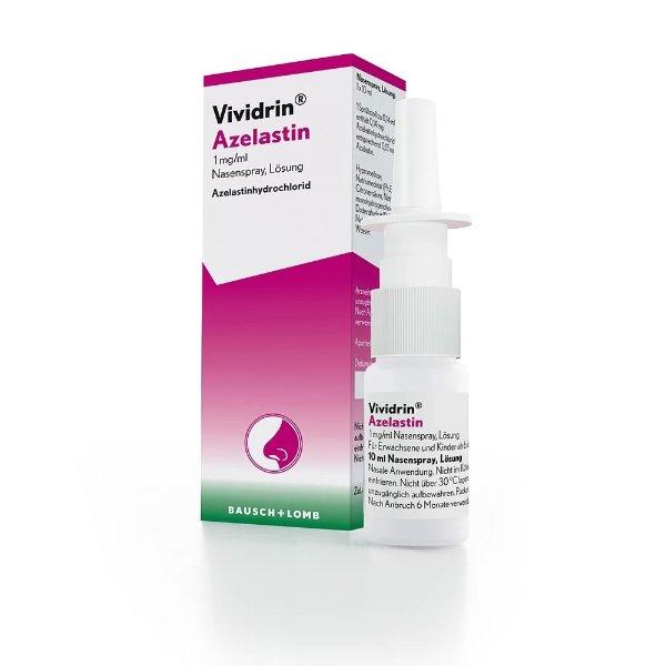Vividrin 急性抗过敏鼻子喷雾