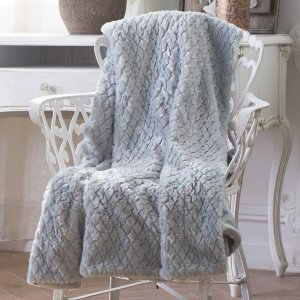 Sable Throw Blanket, Queen 60