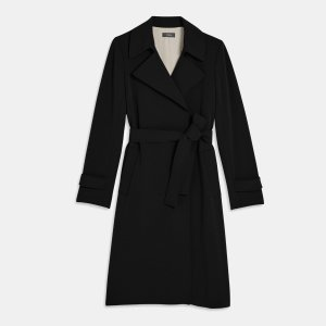 Trench Coat in Crepe | Theory