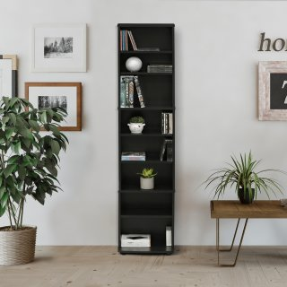 Furinno JAYA Space Saving Multimedia Storage Tower
