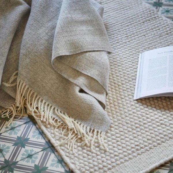 Siljan 50%羊绒装饰毯