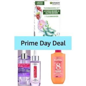 低至5.5折 卡尼尔7日面膜€9Prime Day 狂欢价:Amazon 护肤专场 精华、面膜、眼霜全都有