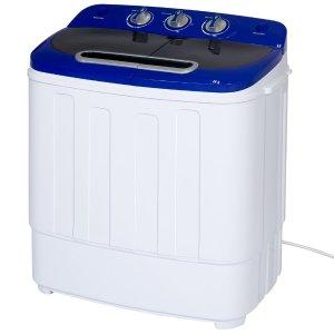 $99.99 (原价$221.99)Best Choice Products 便携双筒洗衣甩干机