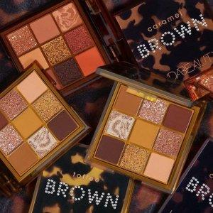 发售!£22收最新9色盘上新:Huda Beauty 新品眼影盘 太妃、焦糖、巧克力