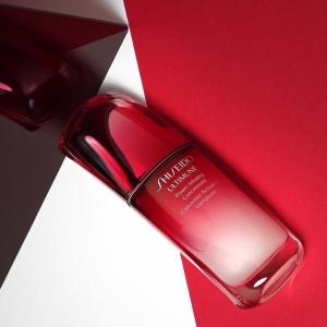 全线85折 £72收50ml红腰子精华Shiseido 全线护肤彩妆热卖 百优眼霜补货£34收