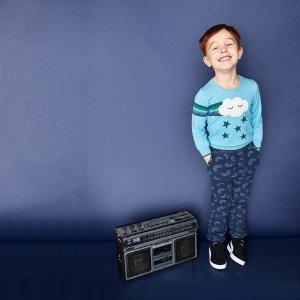 低至3折儿童针织衫、卫衣清仓大促  精巧中透着可爱的小童趣