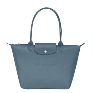 Longchamp超级实用好装,耐磨!雾霾蓝小号单肩饺子包