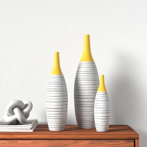 AllModern 装饰花瓶3件套