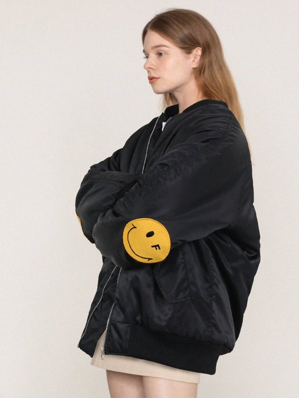 MA-1 笑脸飞行夹克