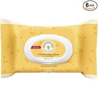 Burt's Bees 宝宝湿巾,6包装