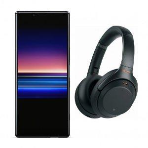 $948 送1000XM3 无线降噪耳机Sony Xperia 1 128GB 解锁版智能手机 准4K+120Hz+Cinealta