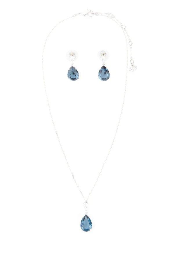 Vintage蓝水晶组合