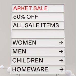 5折 燕麦色大毛衣£47上新:Arket 精选美衣大促持续上新 秋冬新品大衣都参加