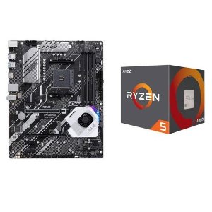AMD RYZEN 5 2600 处理器 + ASUS Prime X570-P 主板