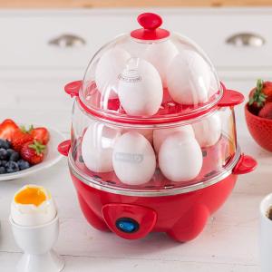 $29.99 近期好价Dash 色彩双层煮蛋器促销 省时省力小帮手