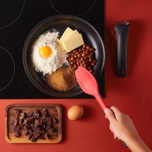 低至7.5折 £24收不粘锅Tefal 法国红点锅 煎锅、炒锅、超多锅具套装 好价回归