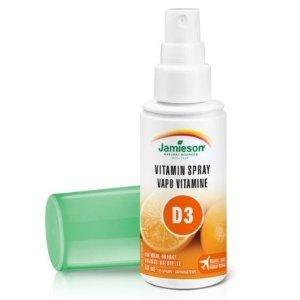 $10.03(原价$15.99)Jamieson 维生素D3 喷雾1000 IU 天然橘子味