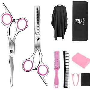 10 Pcs Hair Cutting Scissors/Shears Kit