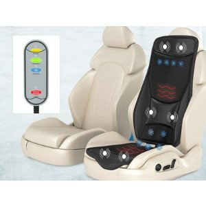 jClub.com: Gideon Massage Cushion with Heating & Cooling for Car & Home: Lifestyle