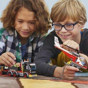 低至6折 $5.49起史低价:LEGO City 城市系列 拼搭玩具热卖,大量上新