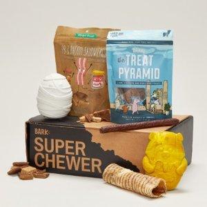 首月礼盒内容物翻倍Super Chewer 大力士狗狗神秘礼盒 为汪星人准备的专属礼物盒
