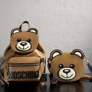 4折起+独家额外88折 £293收泰迪双肩包Moschino 经典小熊包折扣热卖 俏皮可爱又减龄