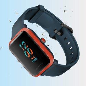 $102.31 三色可选Amazfit Bip S 运动手表 40天续航 超轻设计