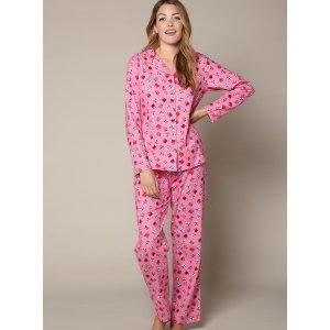 Presents Pyjamas In A Bag - Raspberry | Boux Avenue
