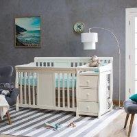 STORKCRAFT 婴儿床+尿布台+收纳箱