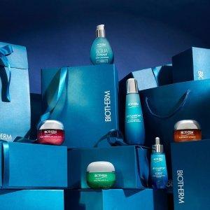 低至6折 $32收价值$88保湿套装Biotherm 碧欧泉超值套装热卖 保湿紧致肌肤 冻龄小蓝瓶